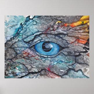 Poster del ojo del dragón de PMACarlson