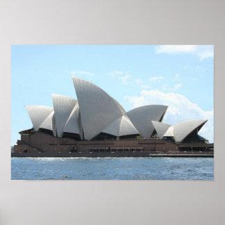 Poster del operahouse de Sydney