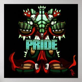 Poster del orgullo (12x12)