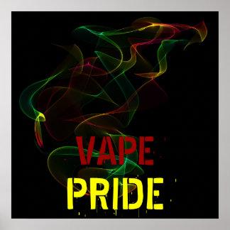 Poster del orgullo de Vape