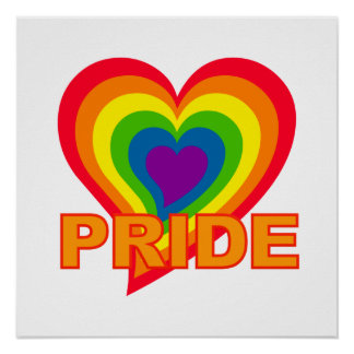 Poster del orgullo del arco iris