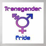 Poster del orgullo del transexual