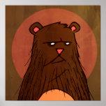 poster del oso de la acción