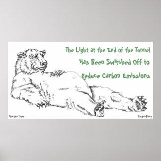 Poster del oso de la desesperación: Luz en el extr