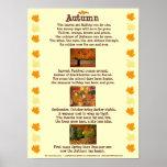 Poster del otoño