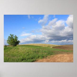 Poster del paisaje