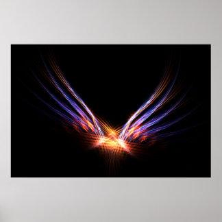 Poster del pájaro del fuego de Phoenix Póster