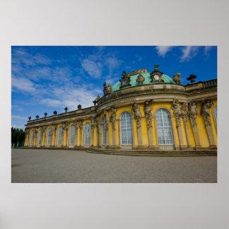 Poster del palacio de Sanssouci