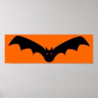 Poster del palo de Halloween