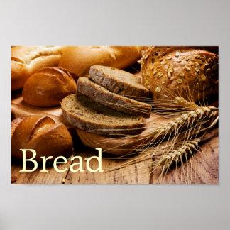 Poster del pan y del trigo