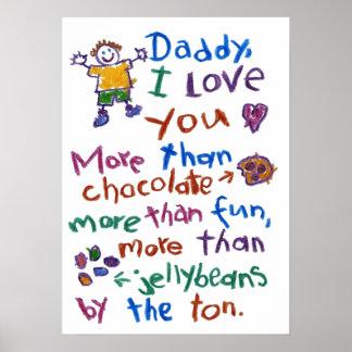 poster del papá