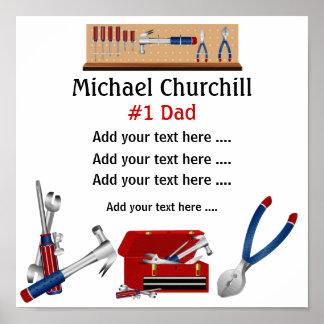 Poster del papá/del padre/de abuelo - SRF