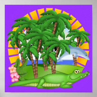Poster del paraíso - SRF Póster