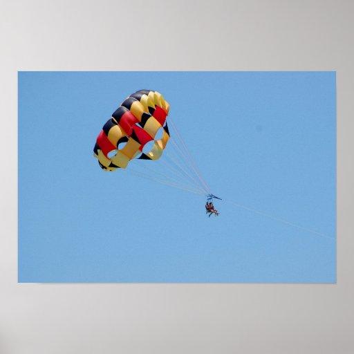 poster del parasailing