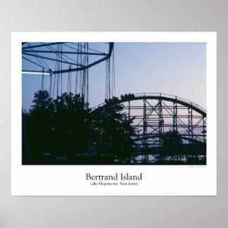 Poster del parque de atracciones de la isla de Ber