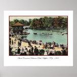 Poster del parque de Delaware del vintage