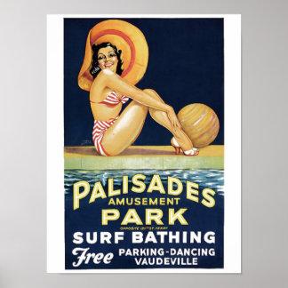 Poster del parque de las palizadas