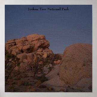 Poster del parque nacional de la yuca