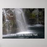 Poster del parque nacional de los fiordos de Kenai