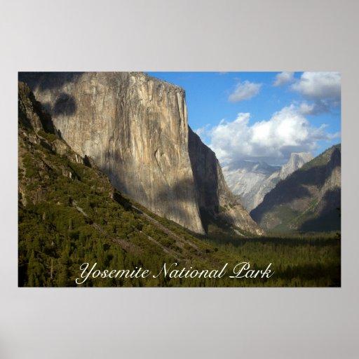 Poster del parque nacional de Yosemite