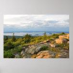 Poster del parque nacional del Acadia de la montañ