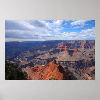 Poster del parque nacional del Gran Cañón
