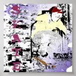 Poster del patín