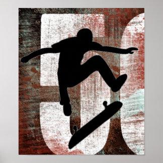 poster del patinador