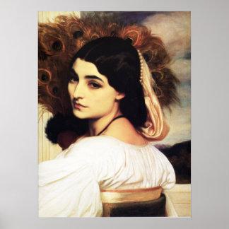 Poster del Pavonia de Federico Leighton