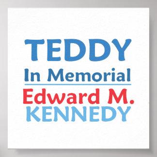 Poster del PELUCHE de Ted Kennedy