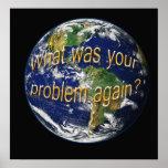 Poster del pensamiento de la tierra