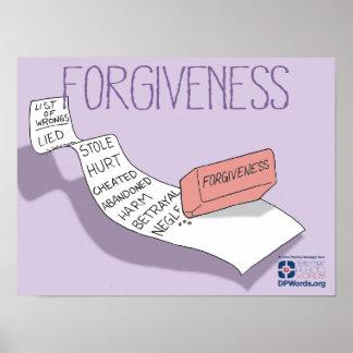 Poster del perdón