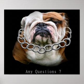 poster del perro