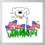 Poster del perro de los E.E.U.U.