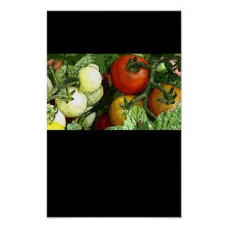 poster del personalizable del mercado de los granj