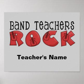 Poster del personalizable del profesor de la banda