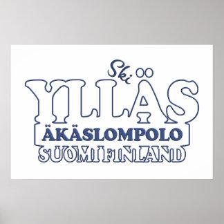 Poster del personalizado de YLLÄS FINLANDIA