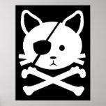 Poster del pirata del gato