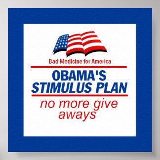Poster del plan de estímulo