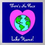 Poster del planeta del Día de la Tierra