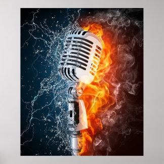 """""""Poster del poder de la música"""""""
