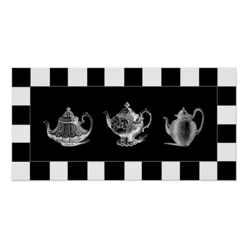Poster del pote del té