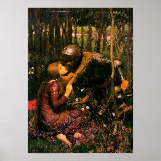 Poster del Pre-Raphaelite por el Waterhouse de Jua