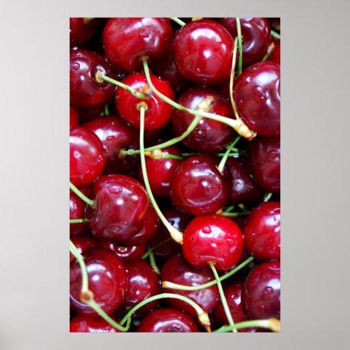 Poster del primer de las cerezas