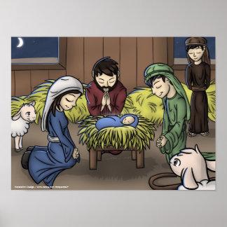 """Poster """"del primer navidad"""""""