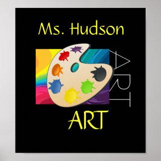 Poster del profesor de arte #2 - SRF