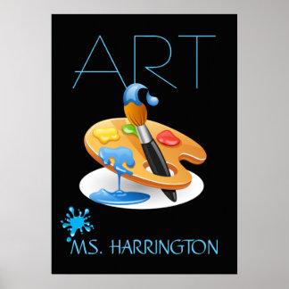 Poster del profesor de arte - SRF