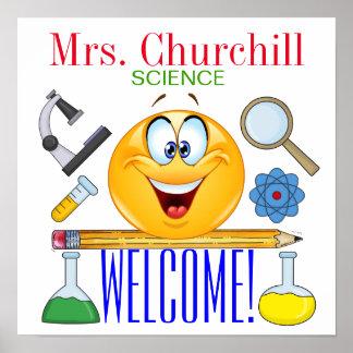 Poster del profesor de ciencias - SRF
