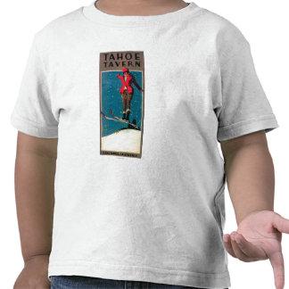 Poster del promo de la taberna de Tahoe Camisetas
