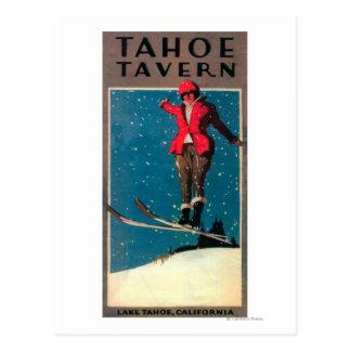 Poster del promo de la taberna de Tahoe Postal